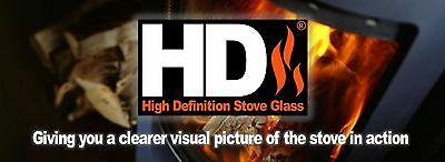 Chappee New Replacement HD Woodburning/Multifuel Stove Glass All Models