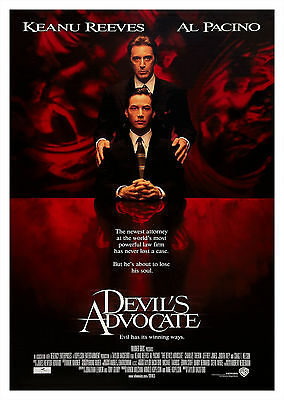 Devil's Advocate (1997) - A2 POSTER **BUY ANY 2 AND GET 1 FREE OFFER**