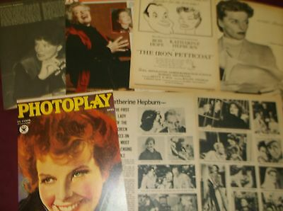 Katherine Hepburn - Clippings