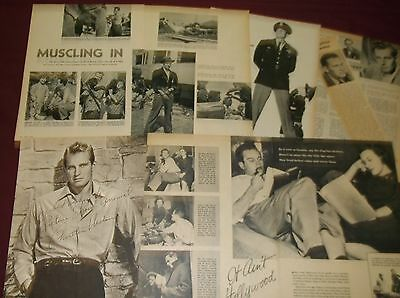 Charlton Heston - Clippings