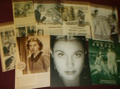 Vivien Leigh - Clippings