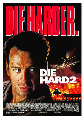 Die Hard 2: Die Harder (1990) V2 - A2 POSTER **BUY ANY 2 AND GET 1 FREE**