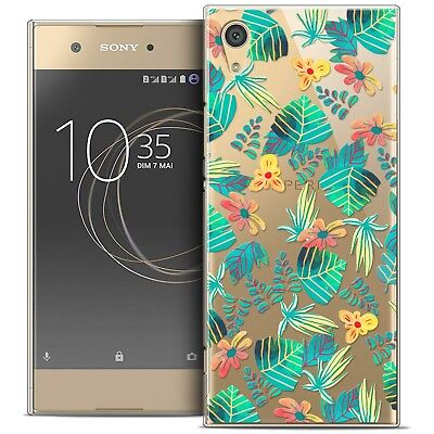 "Coque Crystal Rigide Pour Sony Xperia XA1 (5"") Souple Spring Tropical"