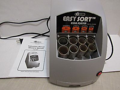 Royal Sovereign Easy Sort Coin Sorter CO-2000