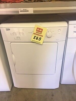 Reconditioned Beko 6kg Tumble Dryer Vented DRVT61W