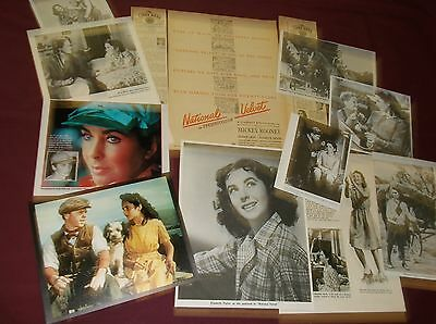 Elizabeth Taylor / National Velvet - Clippings