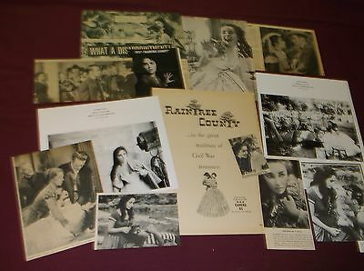 Elizabeth Taylor /Raintree County - Clippings
