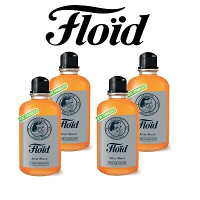 Floid The Genuine -After Shave Dopobarba 400 ml - 4 PEZZI - Revlon New Formula