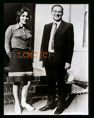 Fotografia Photo Vintage 1972 Irlanda Del Nord William Craig Leader Protestante
