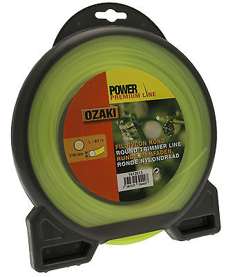 Round Nylon Polymere Cord Line For Strimmers / Trimmers Professional User