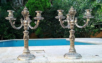 Christofle Pair Of Candelabra