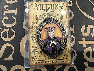 Disney DLP Villains jeweled Oval Frame Frollo pin le 700