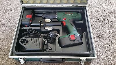 Bosch X-CEL PSB 18 with 2 X Batteries case and charger