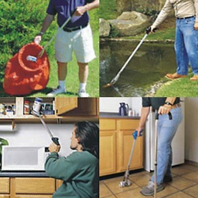 Folding Pick Up Tool Grabber Litter Picker Mobility Disability Aid Home & Garden
