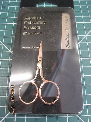Hemline Premium embroidery scissors