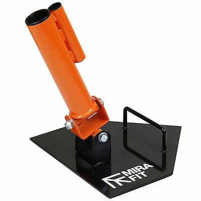 MIRAFIT Corner T Bar Row Platform Landmine Grappler fits Standard/Olympic Bars