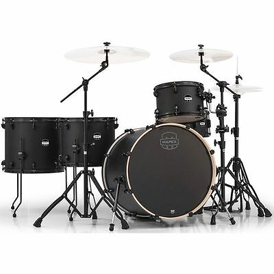 Mapex Mars Crossover 5-Piece Shell Pack - Nightwood with Black Hardware