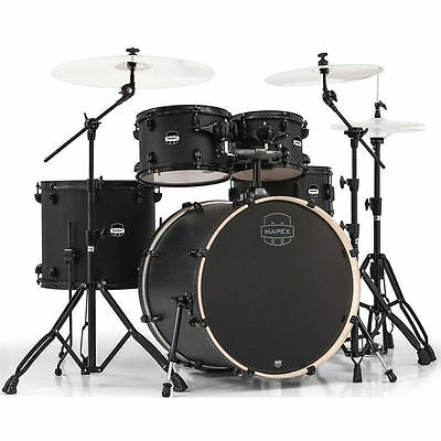 Mapex Mars Rock 5 Piece Shell Pack - Nightwood with Black Hardware