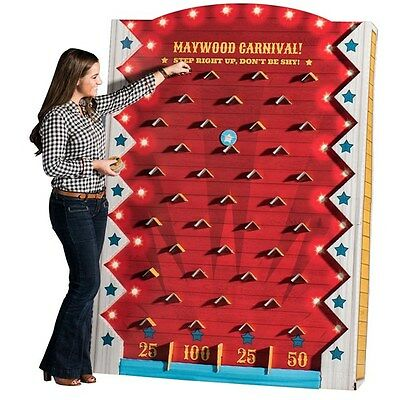 Disk Drop Board Game Plinko like board drop game carnival school party