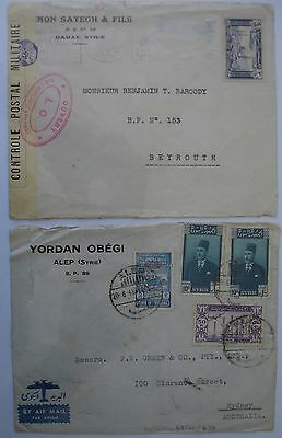 Syria: Collection of Envelopes.