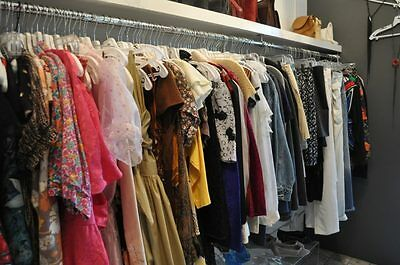 Lot 50 Pcs Plus Size Womens Mixed Clothing Wholesale Thrift Resale Consignment