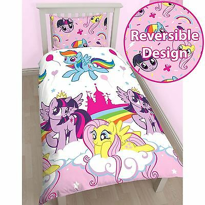 My Little Pony Equestria Single Duvet Cover Set Kids Bedding New