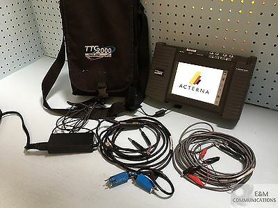 Acterna Ttc 2000 Testpad With 2207 T1 Wireless Module, Power, Cables