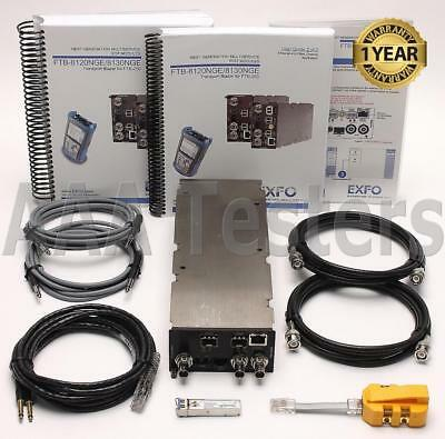 EXFO FTB-8120NGE Gigabit Ethernet Power Transport Blazer For FTB-200 FTB-200-V2