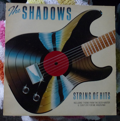 The Shadows ‎– String Of Hits - Vinyl, LP