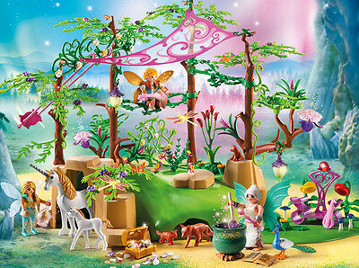 PLAYMOBIL® 9132 Magical fairy forest - NEW 2017 - S&H FREE WORLDWIDE