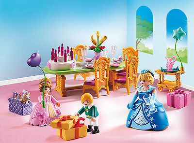 PLAYMOBIL® 6854 Royal Birthday Party - NEW 2016 - S&H FREE WORLDWIDE