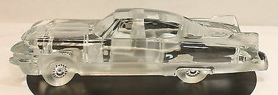 Daum France Crystal Car - Cadillac Eldorado -
