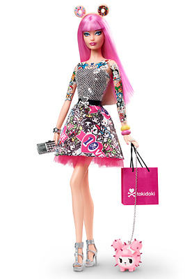 Tokidoki Barbie, Mattel 10th Anniversary Barbie Doll New In Box - Free Shipping!
