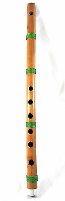 Indian Bansuri Bamboo Flute Fipple Type- Indian Musical Instruments Tone G