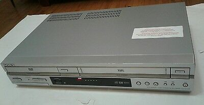 Sony DVD player and Video Cassette Recorder SLV-D350P Works