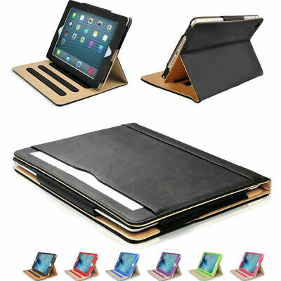 New Soft Leather Smart Case Cover Sleep Wake Stand for APPLE iPad 9.7 2017 5th