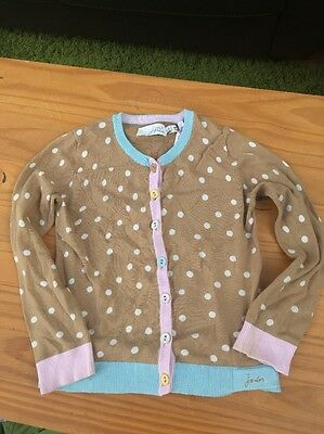 Joules Age 7 Cardigan