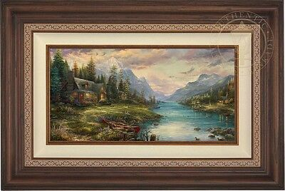 Thomas Kinkade Studios Father's Perfect Day 12 x 24 Limited Edition E/E Canvas