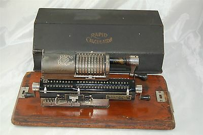 The Rapid Calculator Philadelphia with Base and Case Cover
