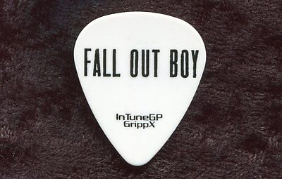 FALL OUT BOY 2014 Save Rock And Roll Tour Guitar Pick!!! custom concert stage #2