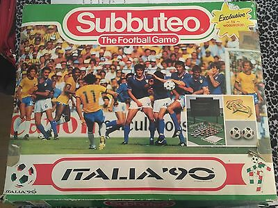 Vintage Retro Subbuteo World Cup Edition Italia 90