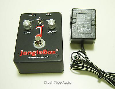 Janglebox Compression / Sustain Guitar Effects Pedal w Adapter -- TX2