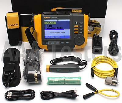 Fluke 810 Handheld Mechanical Machine Vibration Tester w/ Tachometer Fluke-810