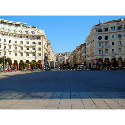 Aristotelous Square Thessaloniki Greece Cheap Penny .01 Photo, No Reserve Bid
