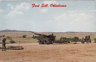 FORT SILL, Oklahoma, 50-60s ; 8 inch Howitzer, U. S. Army Artillery, Missile Ctr