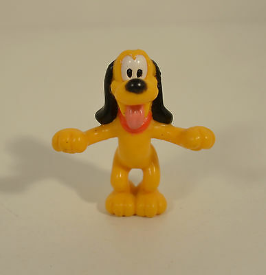 "2"" Pluto Dog Mickey Mouse Pet Clubhouse PVC Plastic Action Figure Disney Friends"