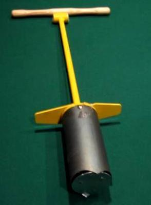 Golf Hole Cutter - Foot Extraction Style