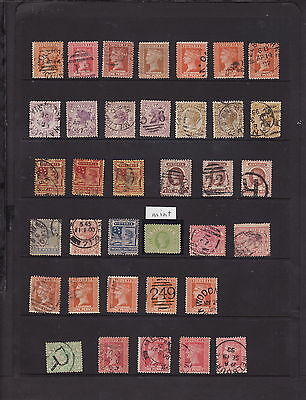 VICTORIA AUSTRALIA 1891-99 STAMPS COLLECTION - Mainly GOOD USED (L253)