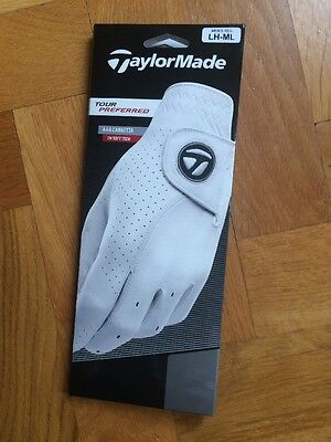 Taylormade Tour Preferred Glove,packs Of 3, Can Mix Sizes