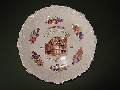 Antique CWS Longton Radcliffe Co-Operative Commemorative Plate 1910